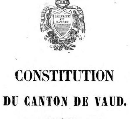 Constitution cantonale vaudoise